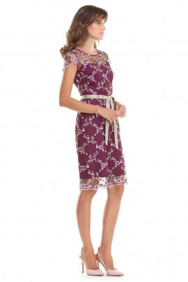Платье Nelva 5598 фиолетовый