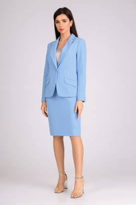 Женский костюм IVARI 202+508 голубой