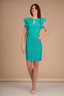 Платье Lady Line 417 бирюза