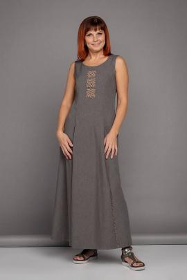 Платье Соджи 399 кофейный