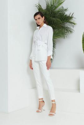 Блуза Lakbi 51481 белый
