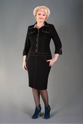Платье Manklover 644 черный