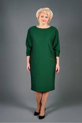 Платье Manklover 653 зеленый