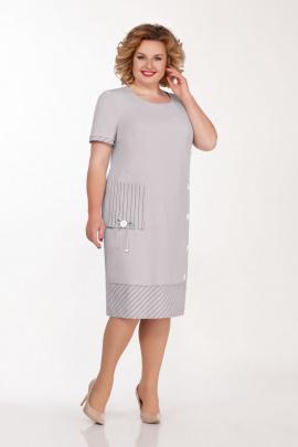 Платье Tellura-L 1496 серый