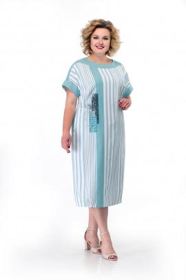 Платье Мишель стиль 867 мята