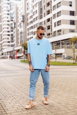 Футболка Rawwwr clothing 158 голубой