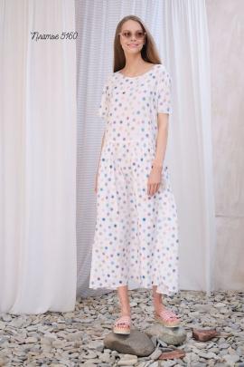 Платье Lea Lea 5160 голубой