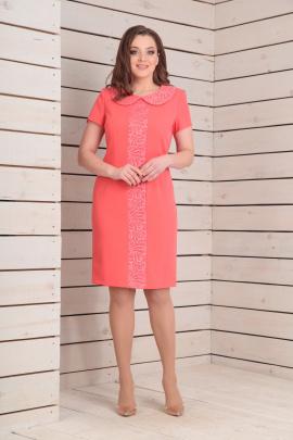 Платье Basagor 367 коралл