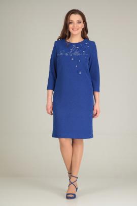 Платье Basagor 515 васильковый