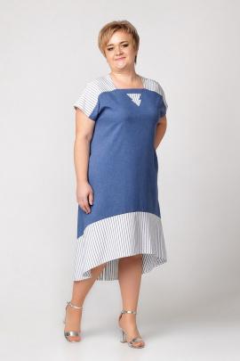 Платье Соджи 345 синий
