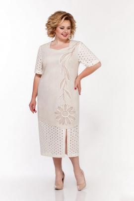 Платье LaKona 1312 ваниль