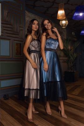 Платье Lady Lusso 14-19 голубой
