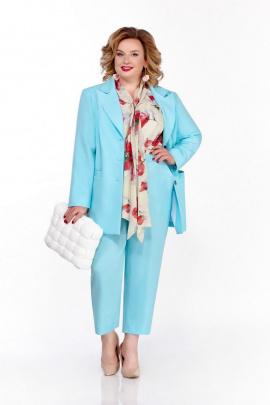 Женский костюм Pretty 1215 голубой