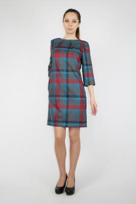 Платье VLADOR 500201 серо-голубой