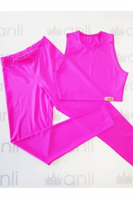Леггинсы Anli 046 розовый