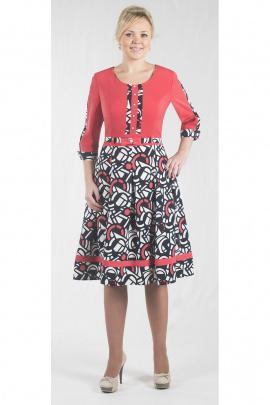 Платье Zlata 1600 красный
