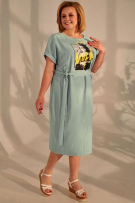 Платье Golden Valley 4680-1 зеленый