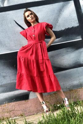 Платье Pavlova 054 красный