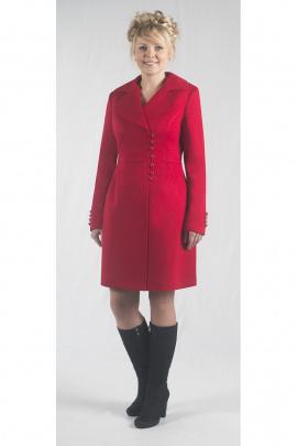 Пальто Zlata 1516A красный