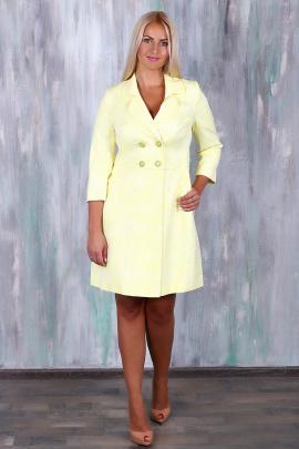 Пальто Avila 0533 желтый