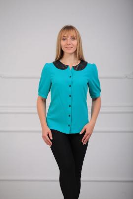 Блуза LUXTEX 0315 бирюза