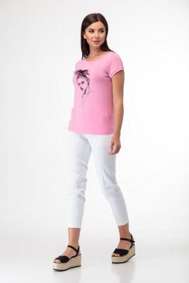 Майка Anelli 525 розовый