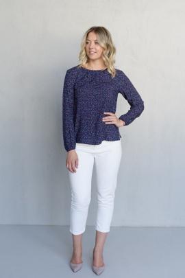 Блуза LindaLux 806 синий
