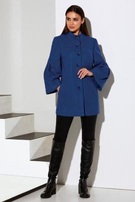 Пальто Lissana 3933 лазурный