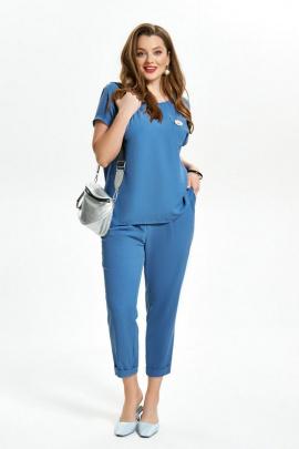 Женский костюм TEZA 1475 синий