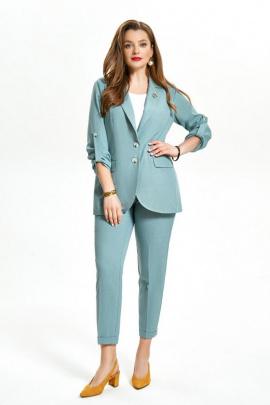 Женский костюм TEZA 1495 мох