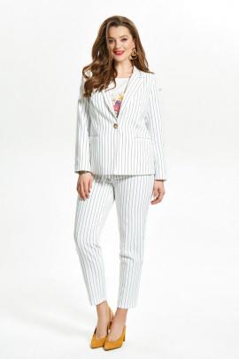 Женский костюм TEZA 1503 белый