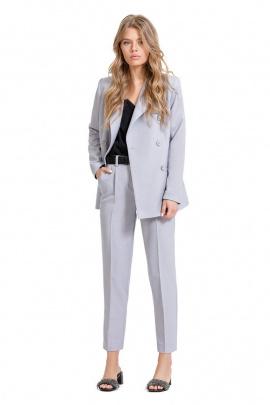 Женский костюм PiRS 635 светло-серый