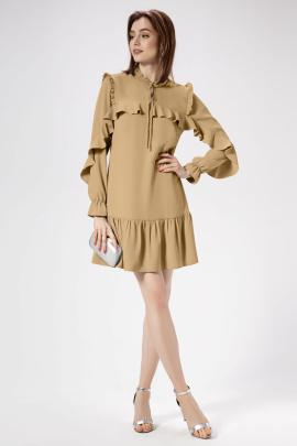 Платье Панда 472680 бежевый