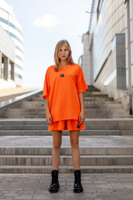 Футболка Rawwwr clothing 166 оранжевый