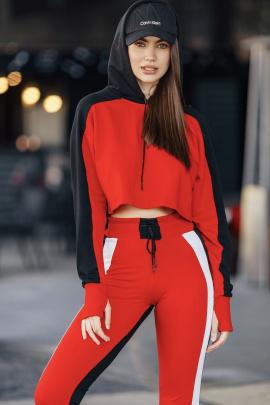 Худи Rawwwr clothing 178 красный