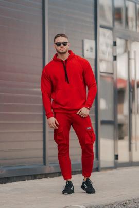 Брюки Rawwwr clothing 185 красный