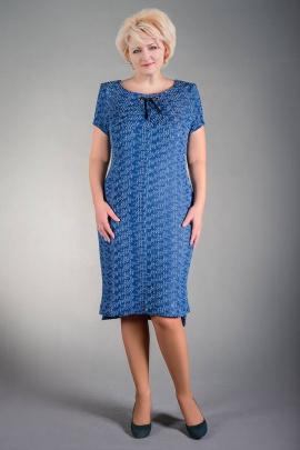 Платье Manklover 766 синий