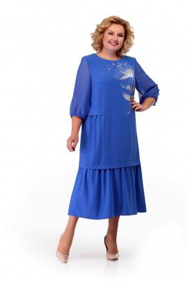 Платье Мишель стиль 882 голубой