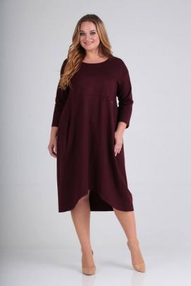 Платье SVT-fashion 485 винный
