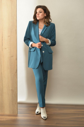 Женский костюм Angelina 540 бирюза