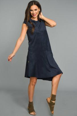 Платье Teffi Style L-1321 сапфир