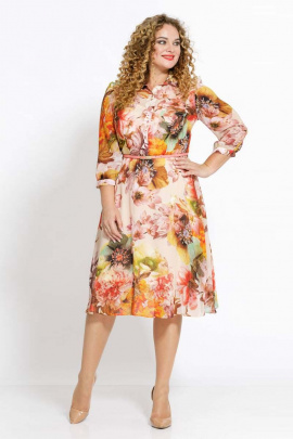 Платье Jersey 1905 цветы