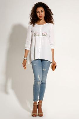 Блуза Prio 199043л белый