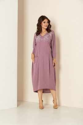 Платье Andrea Style 00291 лаванда