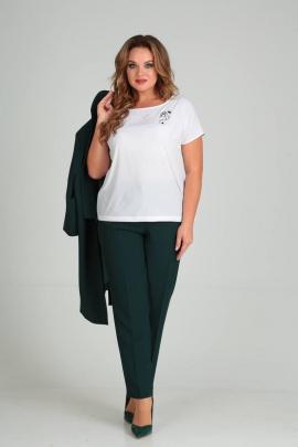Женский костюм SVT-fashion 525 зеленый