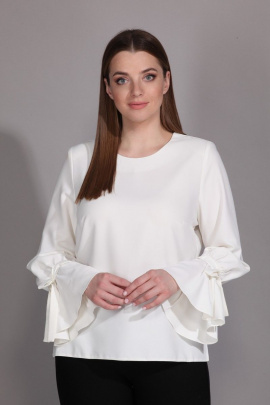 Блуза La Prima 0479 молочный