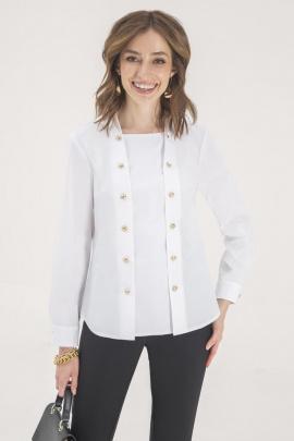 Рубашка ELLETTO LIFE 3415 белый