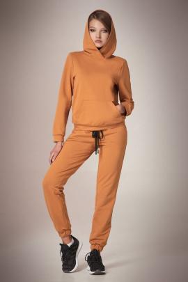 Спортивный костюм Andrea Fashion AF-59 карамель