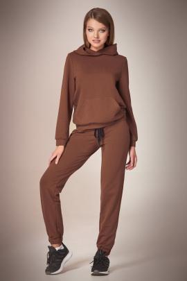 Спортивный костюм Andrea Fashion AF-59 шоколад