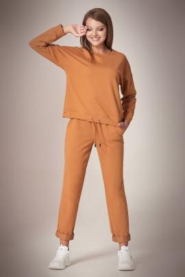 Спортивный костюм Andrea Fashion AF-60 карамель